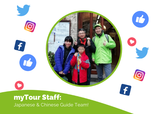 Get To Know Our Japanese & Chinese Guide Team!