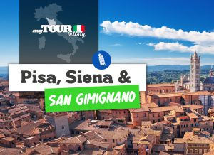 Day tour from Florence to: Pisa, Siena and San Gimignano with lunch!