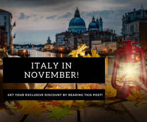 Top 7 cities to visit in November in Italy