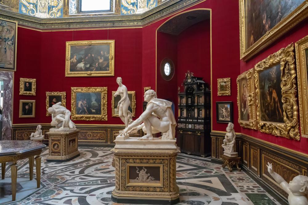 Uffizi Gallery: the artists