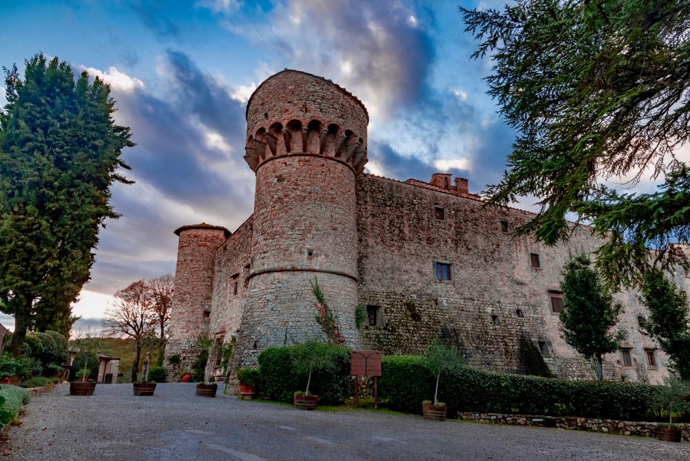 castles in Chianti