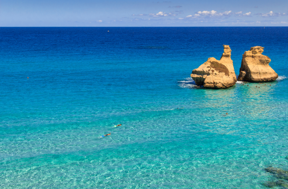 Torre dell'Orso: the two sisters