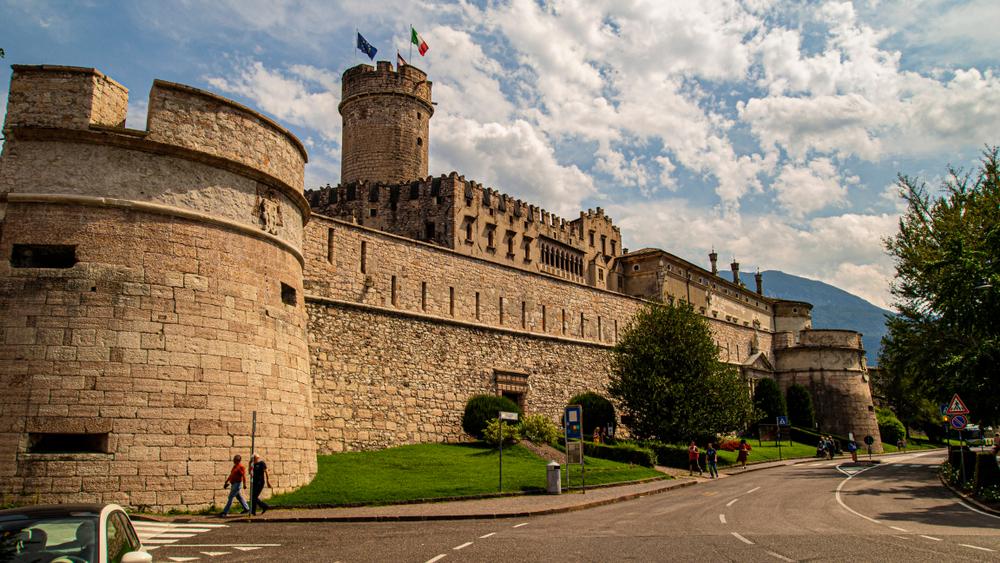 Buonconsiglio Castle and Aquila Tower Trento