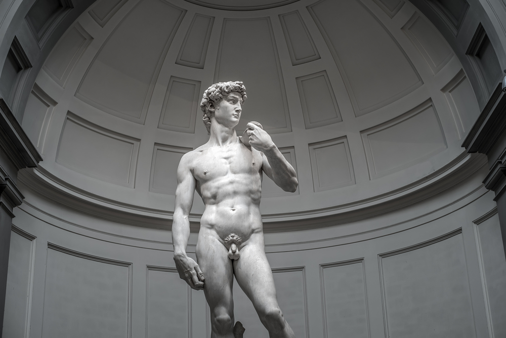 David statue from Accademia Gallery