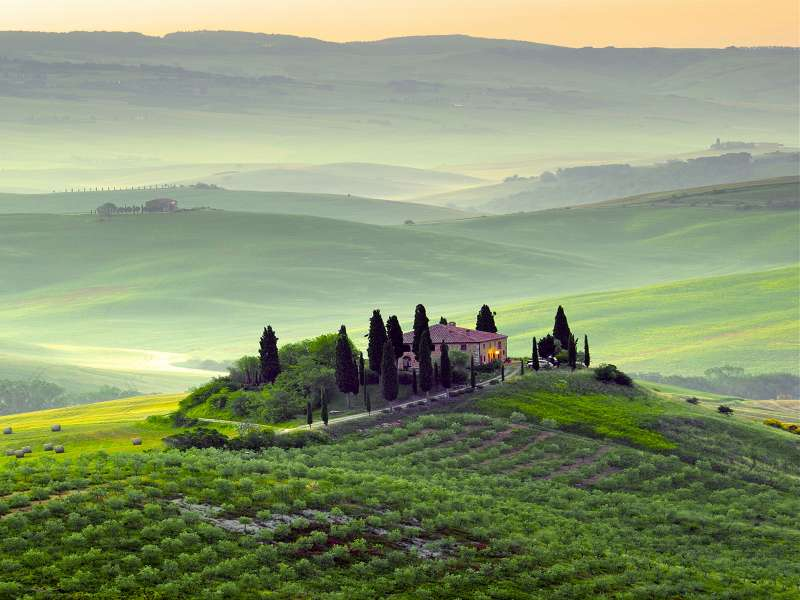 The main attractions in Chianti.