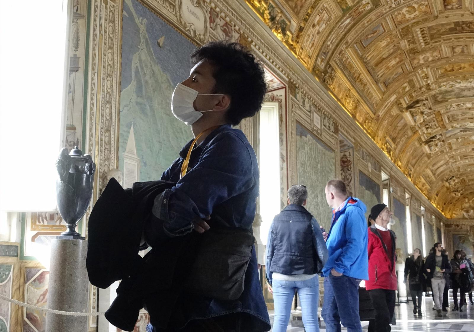 The grand reopening of Vatican Museums after lockdown