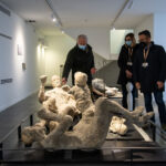 Pompeii displays treasures at reopened Antiquarium museum
